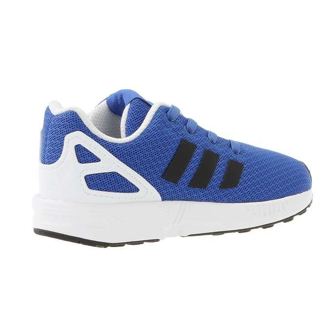 adidas ZX FLUX J Tactile Blue S17 Niebieski Obuwie Dzieciece