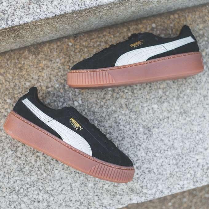 puma platform obuwie