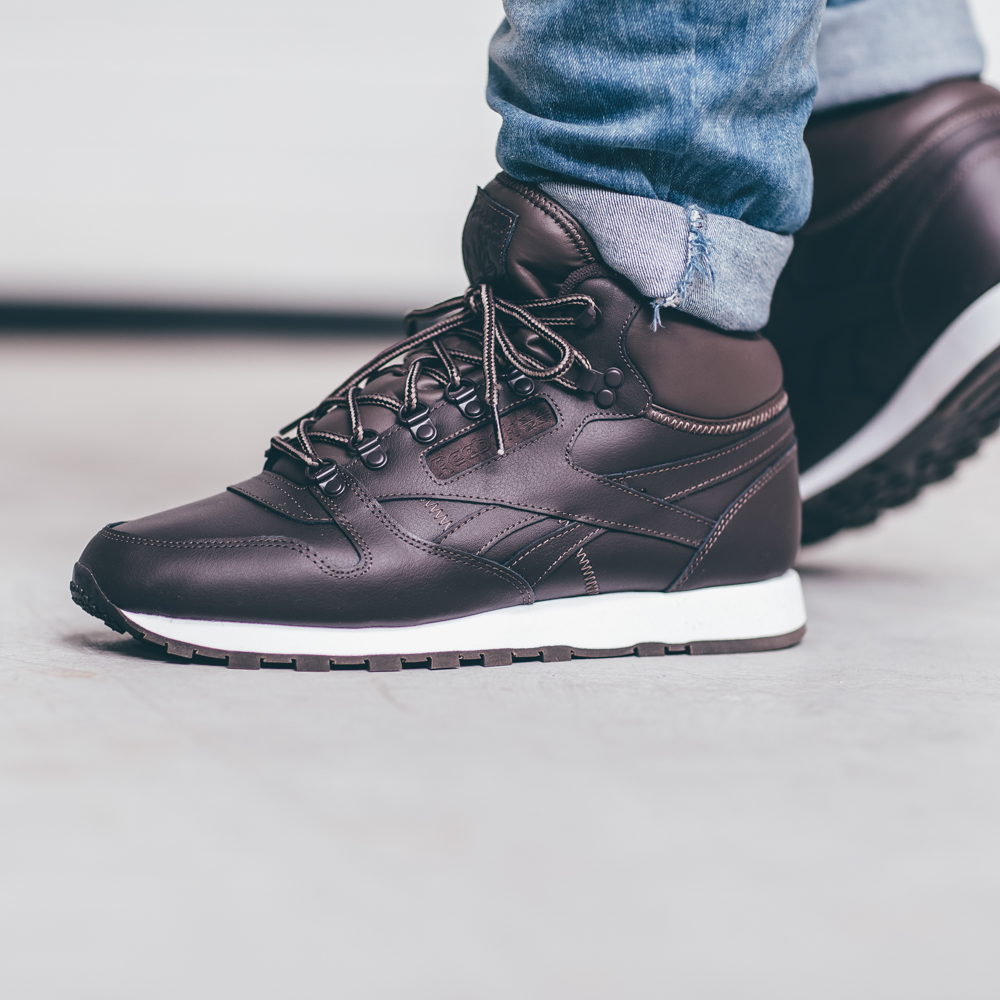 4e593874 Buty Reebok Classic Leather Mid Basic