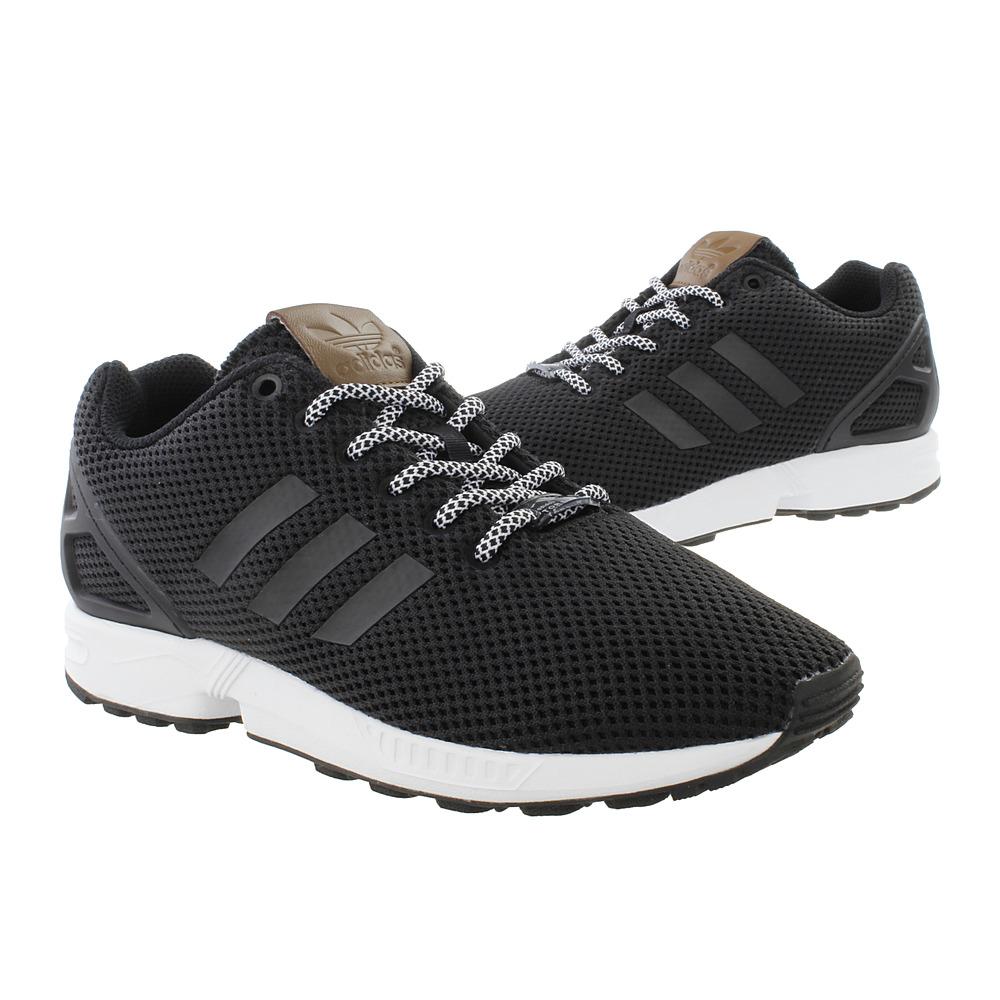 Markowe Buty m?skie Adidas ZX FLUX Originals Core Black White