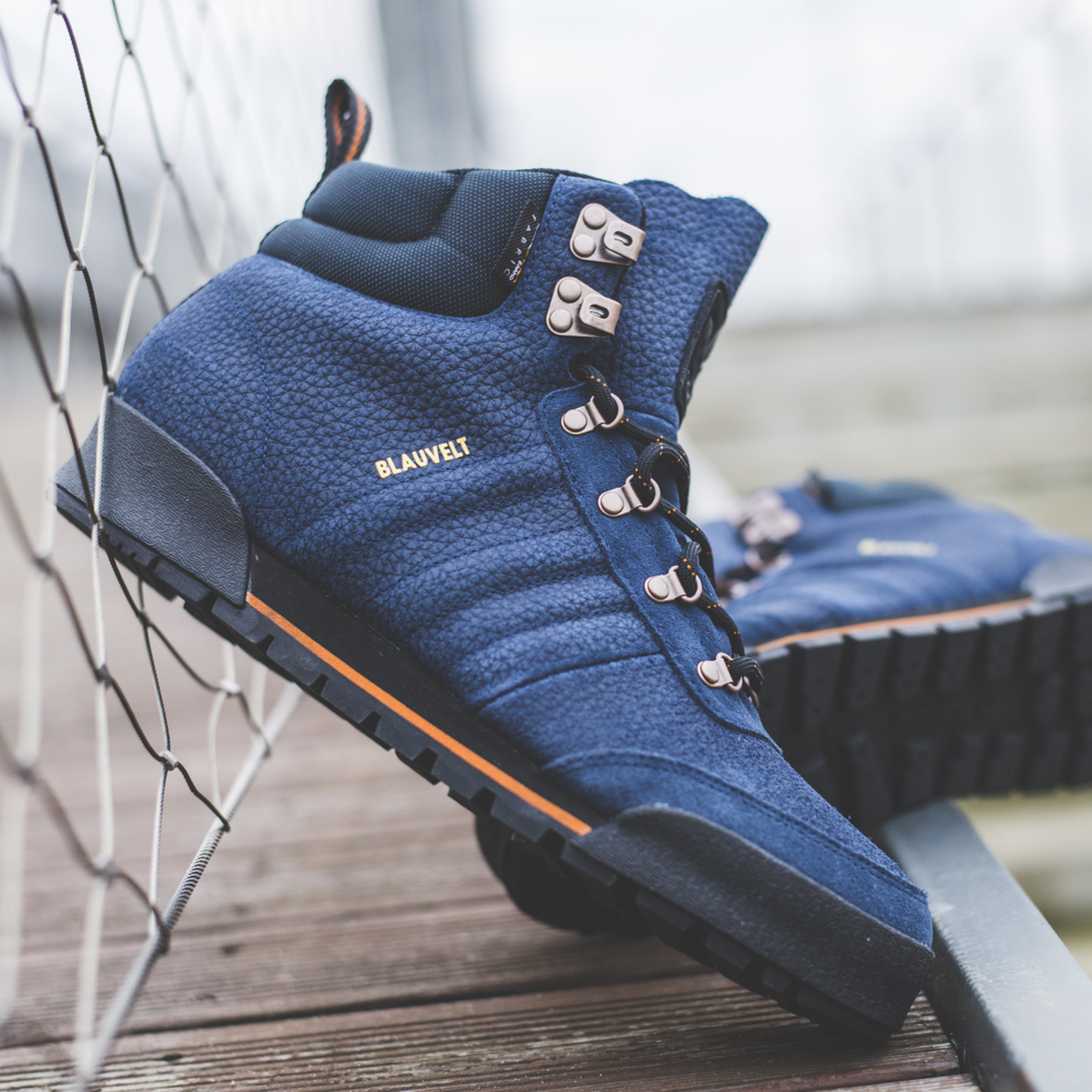 buty adidas navy zimowe